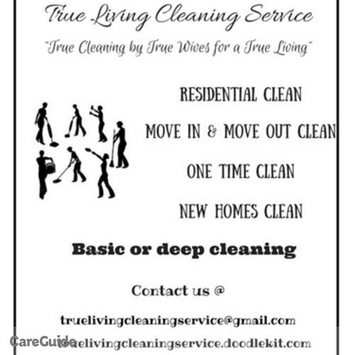 Housekeeper Provider True Living Cleaning Service's Profile Picture