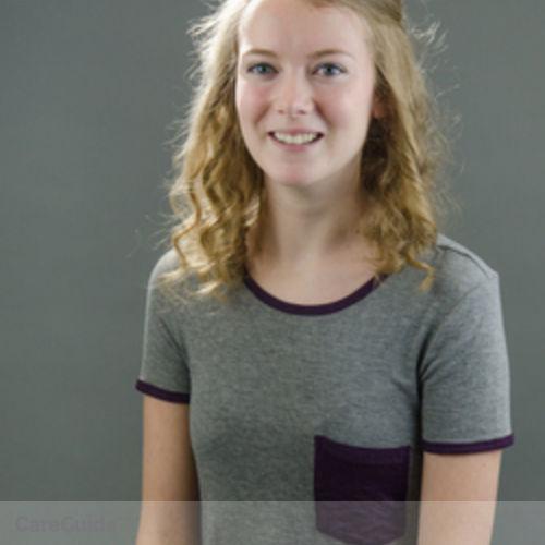 Canadian Nanny Provider Kali Harbinson's Profile Picture