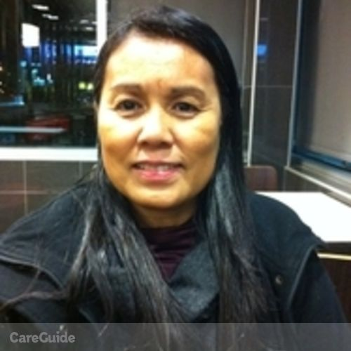 Canadian Nanny Provider Evangeline Cabbab's Profile Picture