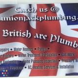 "Unionjack Plumbing ( ""The british are Plumbing"")"
