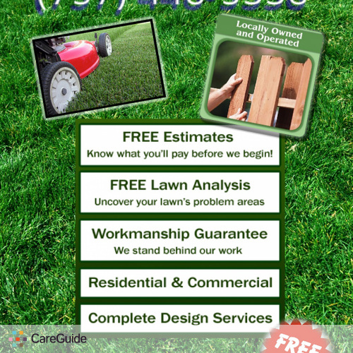 Landscaper Provider Hampton Roads We Cut Grass & Handyman Services's Profile Picture