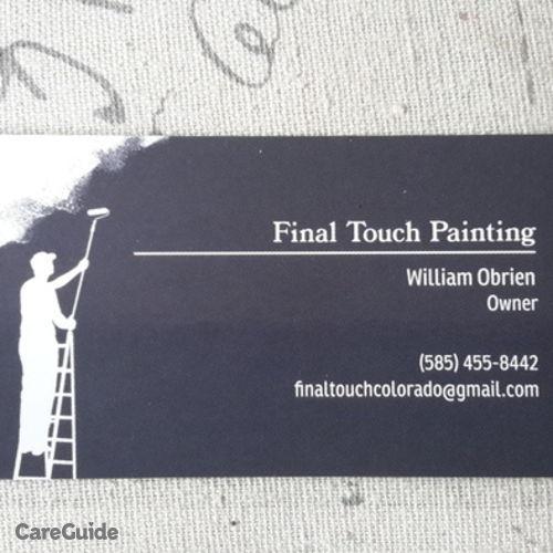 Painter Provider William O's Profile Picture