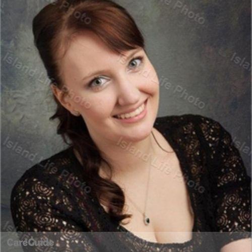 Canadian Nanny Provider Samantha J's Profile Picture