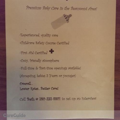 Child Care Provider Beth D's Profile Picture