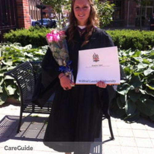 Canadian Nanny Provider Jacqueline Legere's Profile Picture