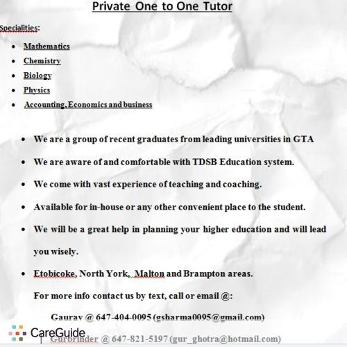 Tutor Provider Gurbrinder Ghotra's Profile Picture