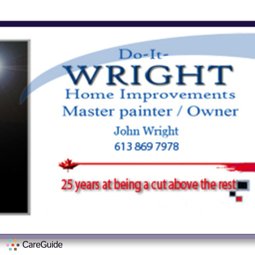 Painter Provider John Wright's Profile Picture