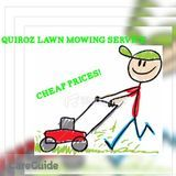 Grass cutting and leaf removal service