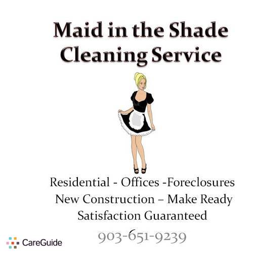 Housekeeper Provider Maid in the Shade Cleaning Service's Profile Picture
