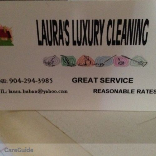Housekeeper Provider Laura M's Profile Picture