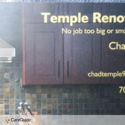 Handyman Provider Chad Temple's Profile Picture