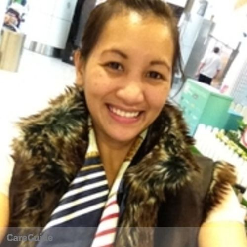 Canadian Nanny Provider Jemelyn Victorino's Profile Picture