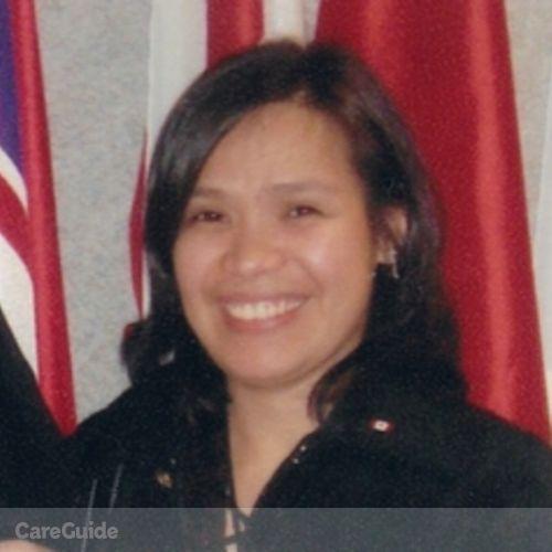 Canadian Nanny Provider Mylene Terrazola's Profile Picture
