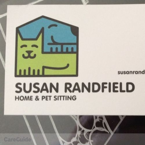 Pet Care Provider Susan R's Profile Picture