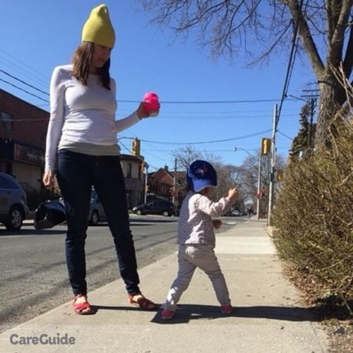Canadian Nanny Job Sarah Pretty's Profile Picture