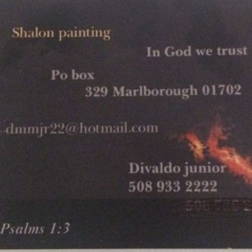 Painter Provider Divaldo Moura's Profile Picture