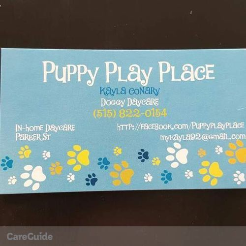 Pet Care Provider Mykayla Conary's Profile Picture