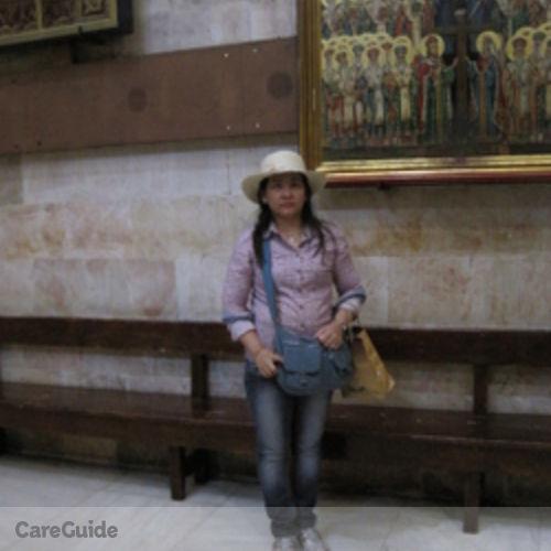 Canadian Nanny Provider Evelyn Dela Cruz's Profile Picture