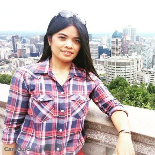 Canadian Nanny Provider Simeona Abrod's Profile Picture