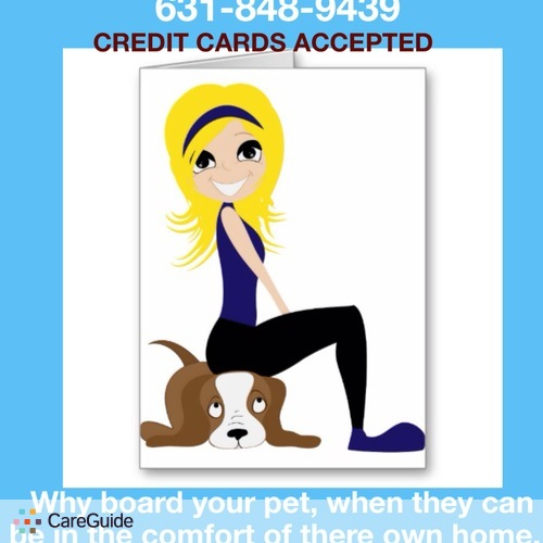 Pet Care Provider Emily B's Profile Picture