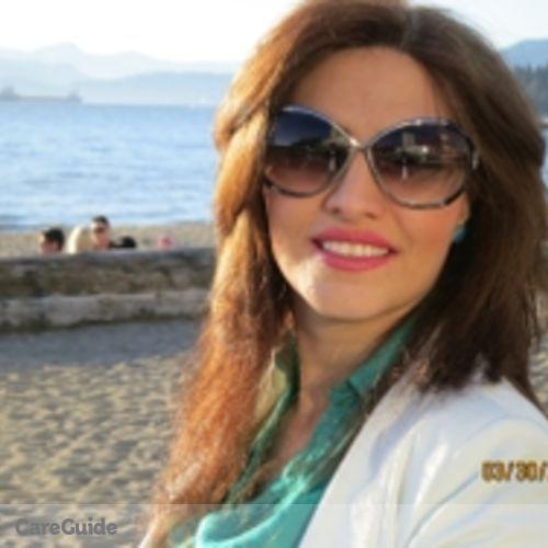 Canadian Nanny Provider Farzaneh M's Profile Picture