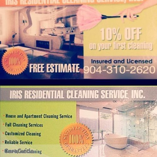 Housekeeper Provider Iris R's Profile Picture