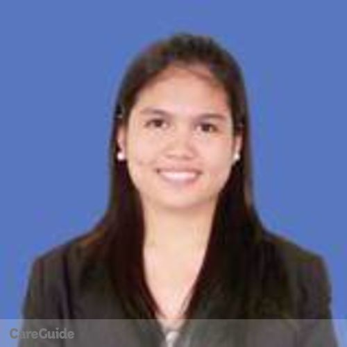 Canadian Nanny Provider Riza Aguilar's Profile Picture