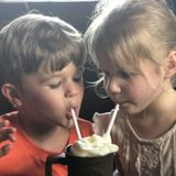 Help needed for 2 nice kids and sweet elderly dog