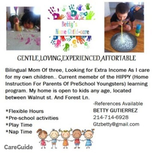 Child Care Job Beatriz Gutierrez's Profile Picture