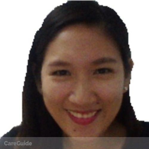 Canadian Nanny Provider Ellain Rose Bueno's Profile Picture