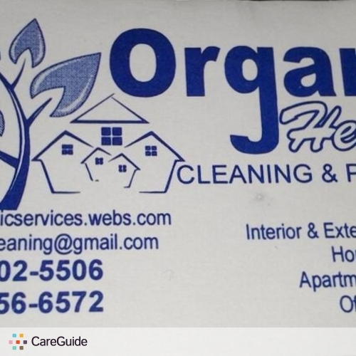 Housekeeper Provider Organic Cleaning's Profile Picture