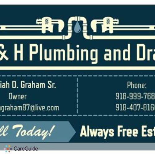 Plumber Provider Jeremiah Graham's Profile Picture