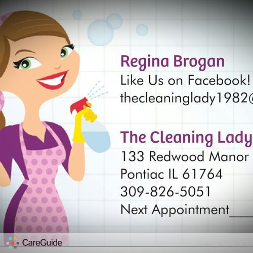 Housekeeper Provider Gina Brogan's Profile Picture
