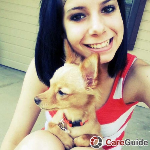 Pet Care Provider Ashley Garza's Profile Picture