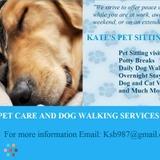 Dog Walker, Pet Sitter in Fredericksburg