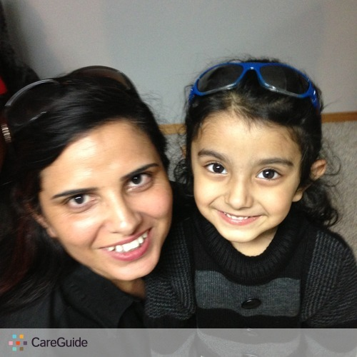 Child Care Provider Arunjeet Kaur's Profile Picture