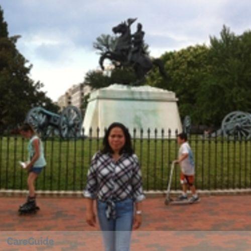 Canadian Nanny Provider Aida Inocencio's Profile Picture