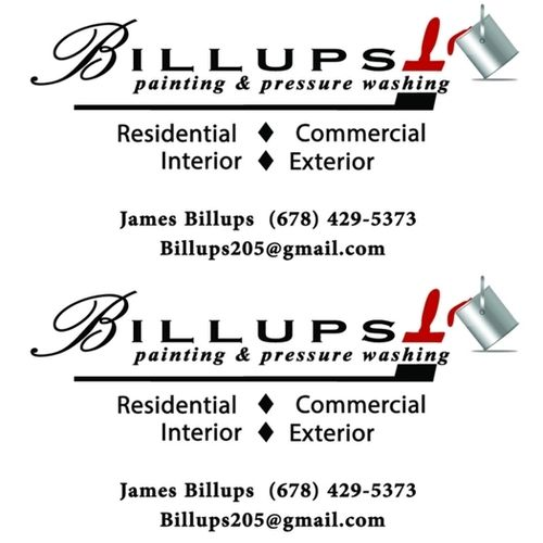 Painter Provider Billups Painting/Pressure Washing's Profile Picture
