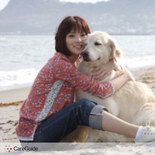 Pet Care Provider Grace Zhao's Profile Picture