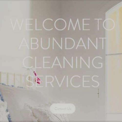 Housekeeper Provider Abundant Cleaning Services's Profile Picture
