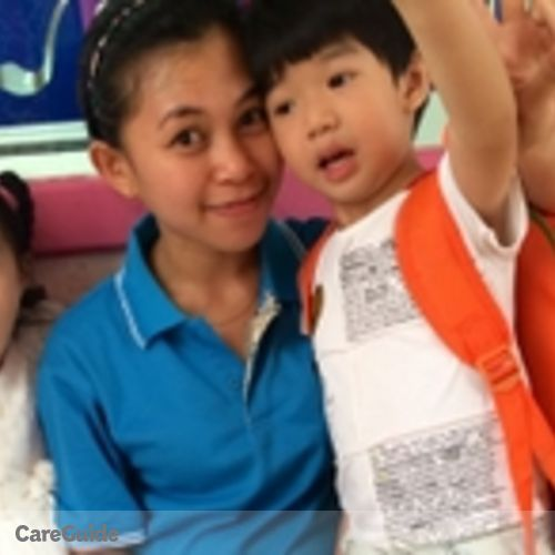 Canadian Nanny Provider Mary Jane Uy's Profile Picture