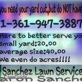 Do you need your yard cut,but DON'T have time?