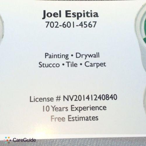 Painter Provider Joel Espitia's Profile Picture
