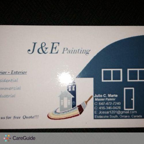 Painter Provider Julio C's Profile Picture