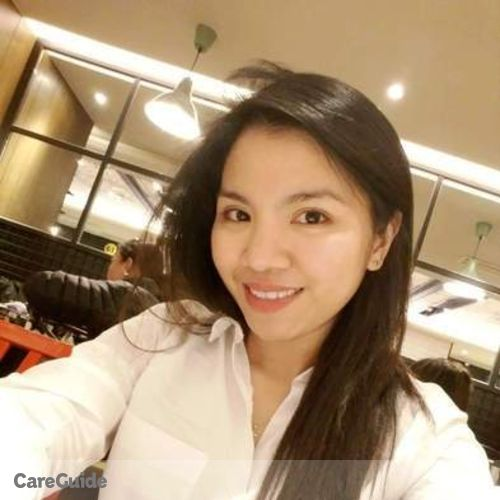 Canadian Nanny Provider Jonalyn V's Profile Picture