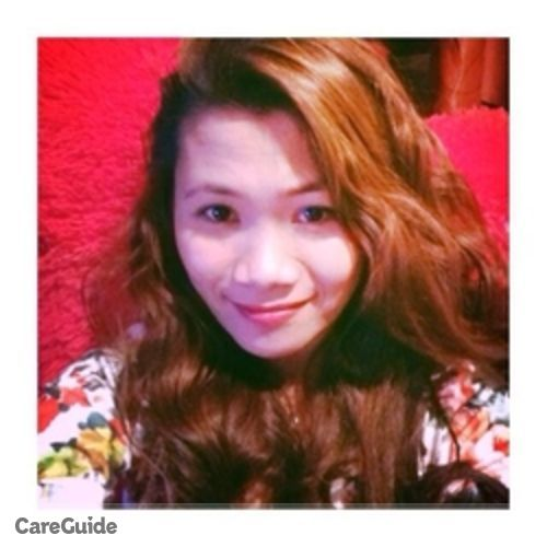 Canadian Nanny Provider Perly Grace Sumagaysay's Profile Picture