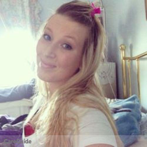 Canadian Nanny Provider Danielle Montgomery's Profile Picture