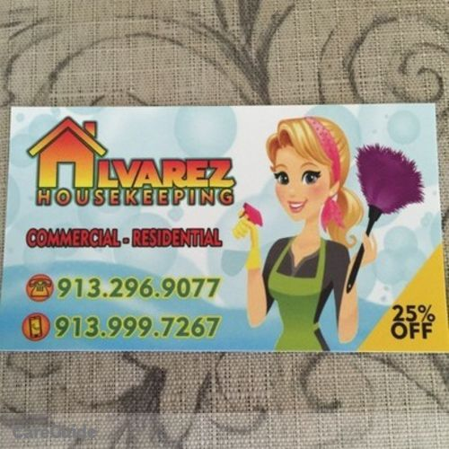 Housekeeper Provider Alvarez Housekeeping's Profile Picture