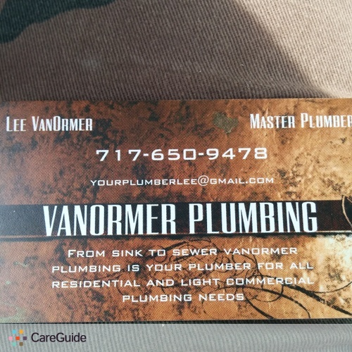 Plumber Provider Lawson VanOrmer's Profile Picture