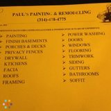 Paul's Painting & Remodeling